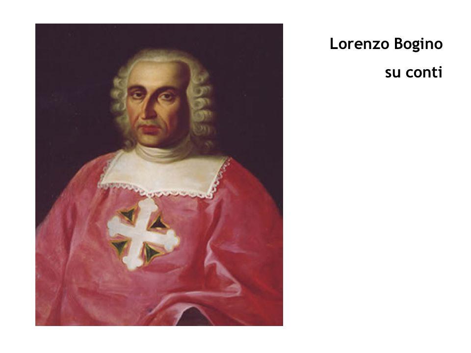 Lorenzo Bogino su conti