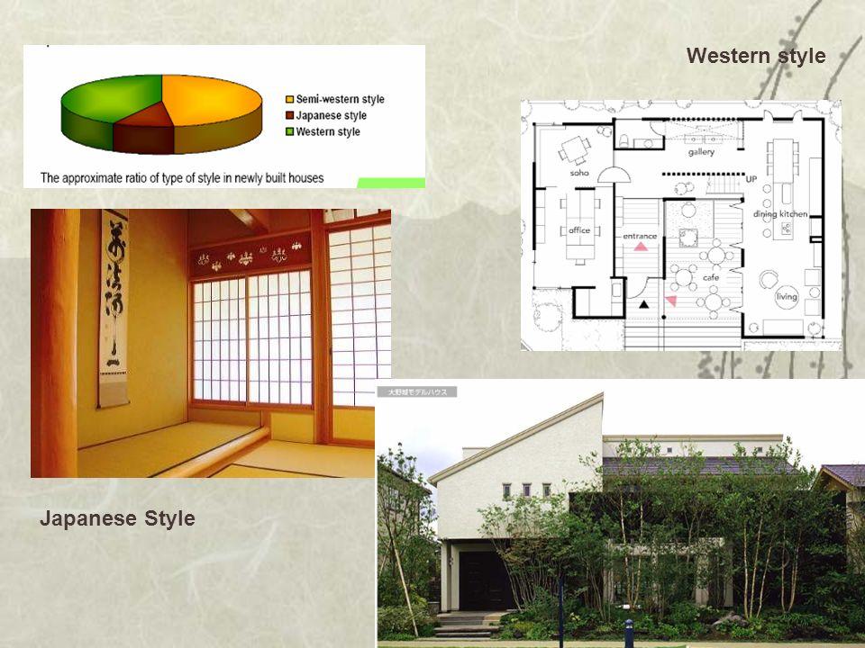 Japanese Style Western style
