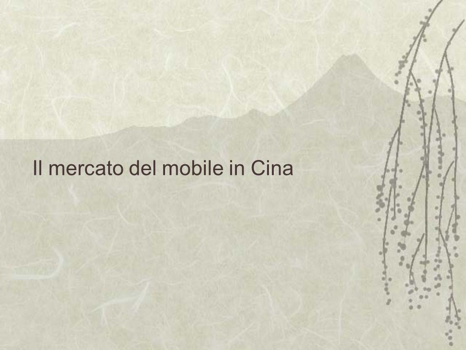 Il mercato del mobile in Cina