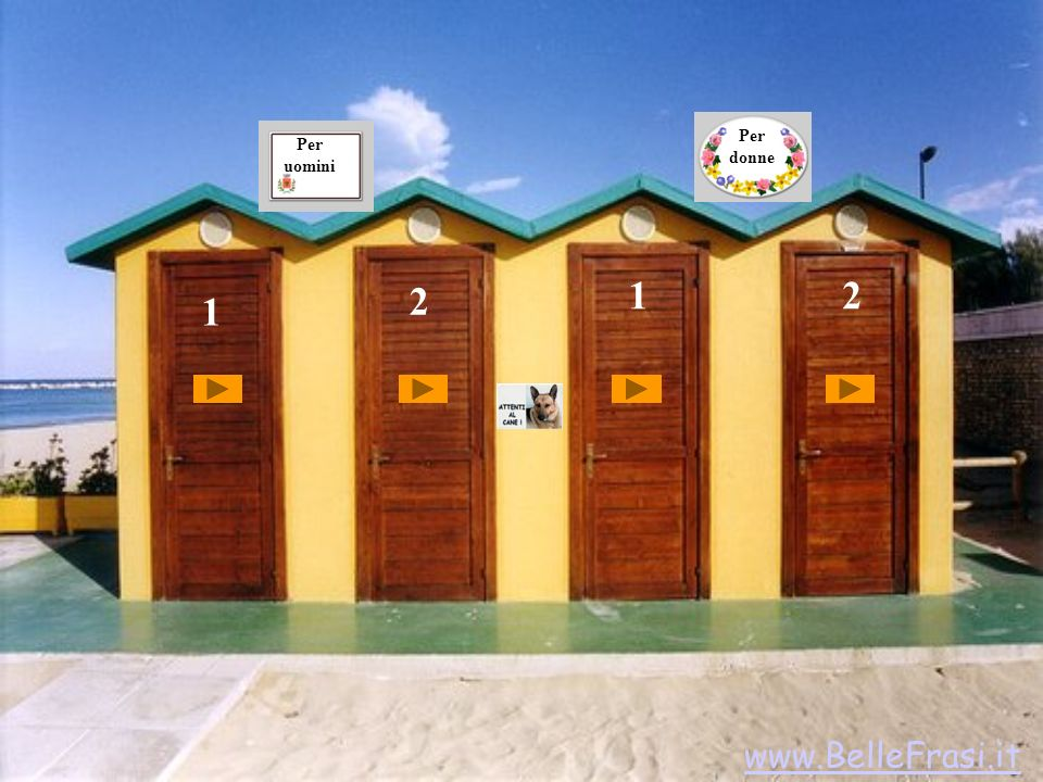 1 2 12 Per uomini Per donne www.BelleFrasi.it