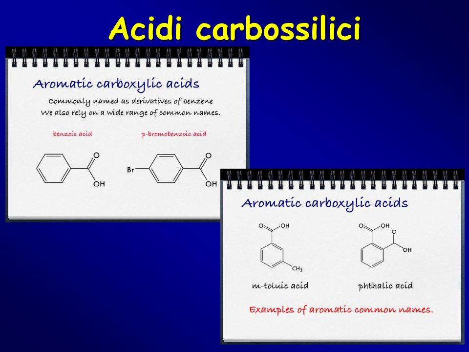 Acidi carbossilici