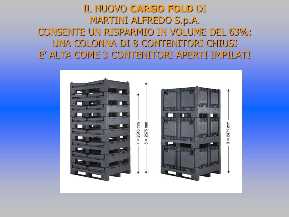 IL NUOVO CARGO FOLD DI MARTINI ALFREDO S.p.A.
