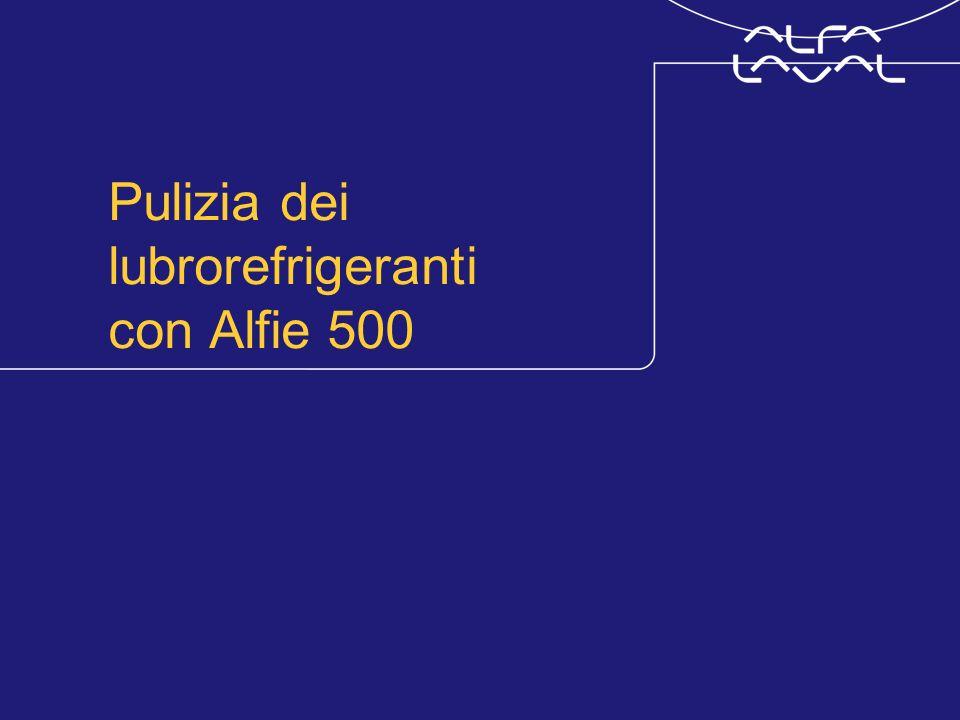www.alfalaval.com © Alfa LavalSlide 3 Pulizia del refrigerante