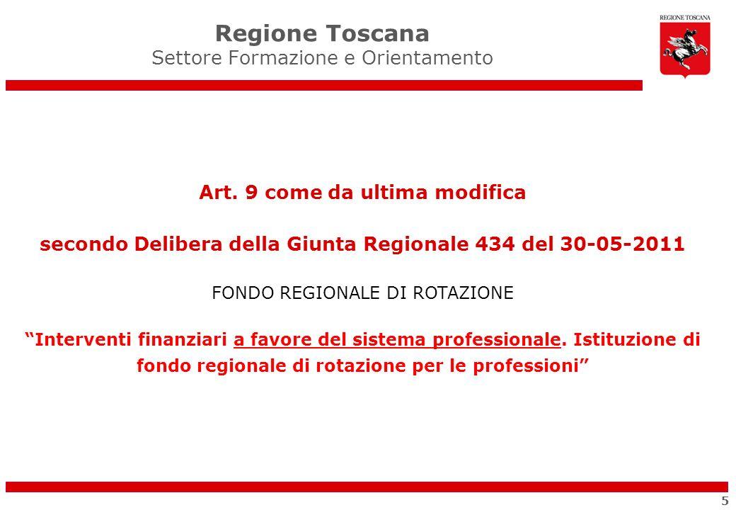 Regione Toscana Settore Formazione e Orientamento Grazie per lattenzione