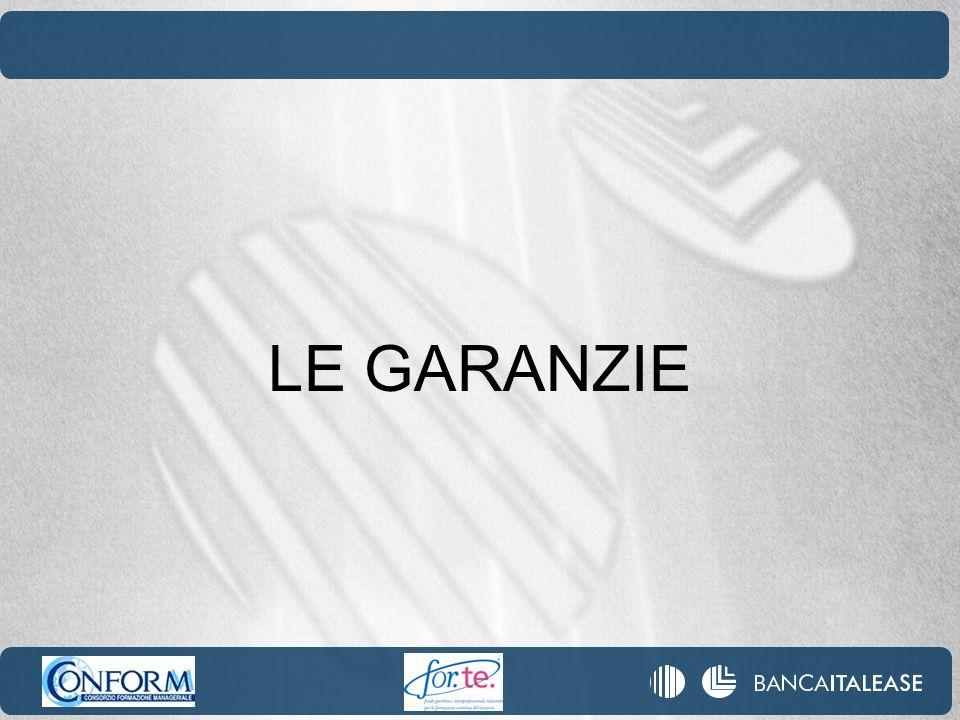 LE GARANZIE REALI (financial collateral) L accordo di Basilea 2 fissa una serie di condizioni per la ammissibilità delle garanzie reali nel calcolo dei requisiti di capitale della banca: