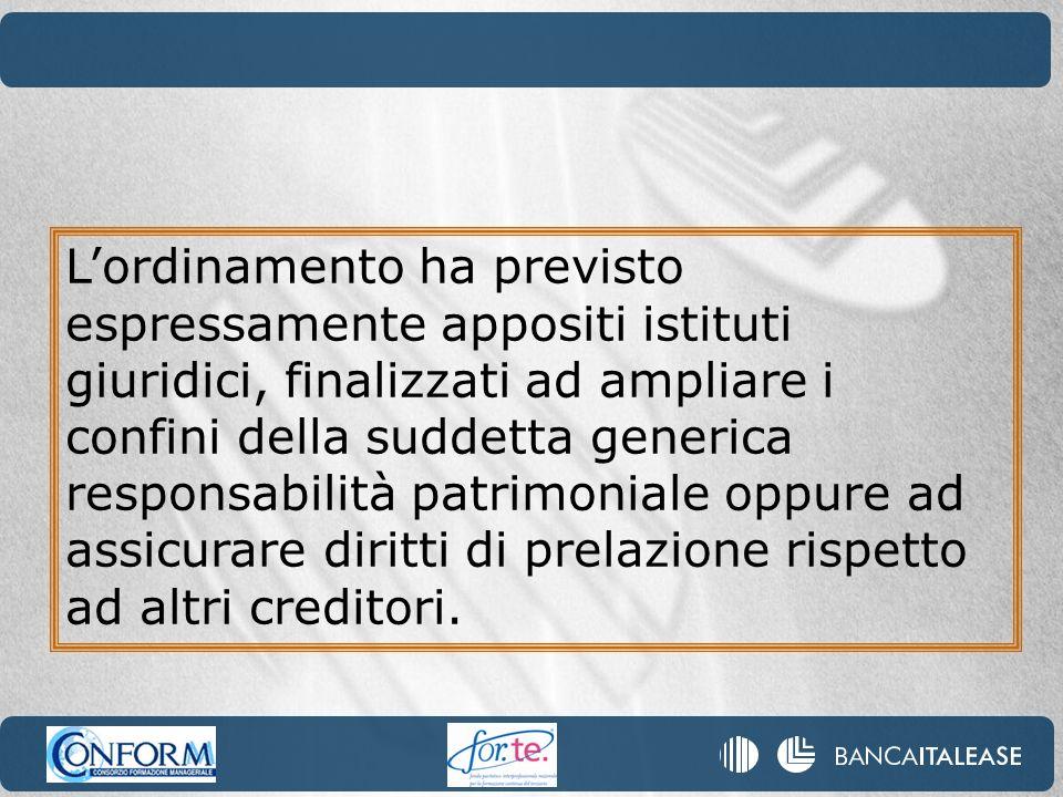 E stata semplificata la procedura di realizzo del credito garantito: il creditore ha la possibilità di vendere le attività finanziarie oggetto del pegno o di appropriarsi delle stesse fino a concorrenza del valore dellobbligazione finanziaria garantita