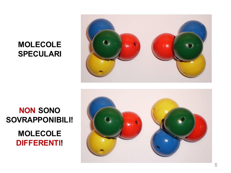 MOLECOLE SPECULARI NON SONO SOVRAPPONIBILI! MOLECOLE DIFFERENTI! 5