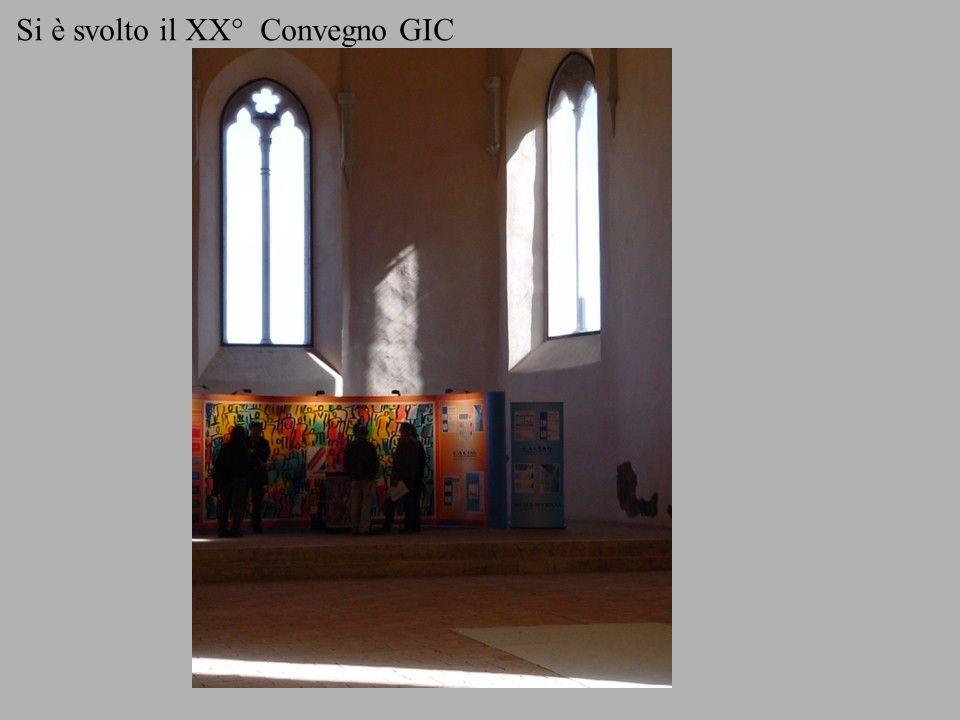 Si è svolto il XX° Convegno GIC