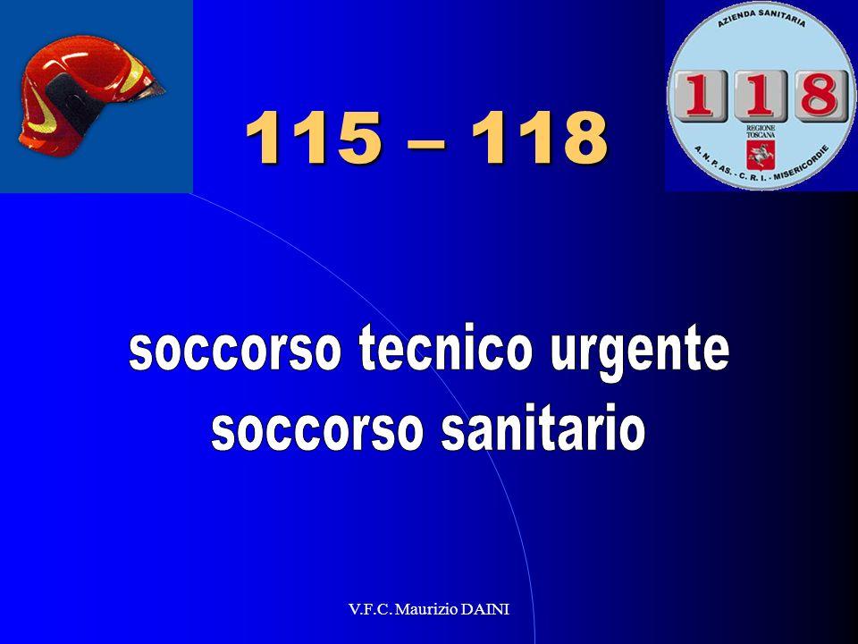 V.F.C. Maurizio DAINI 115 – 118