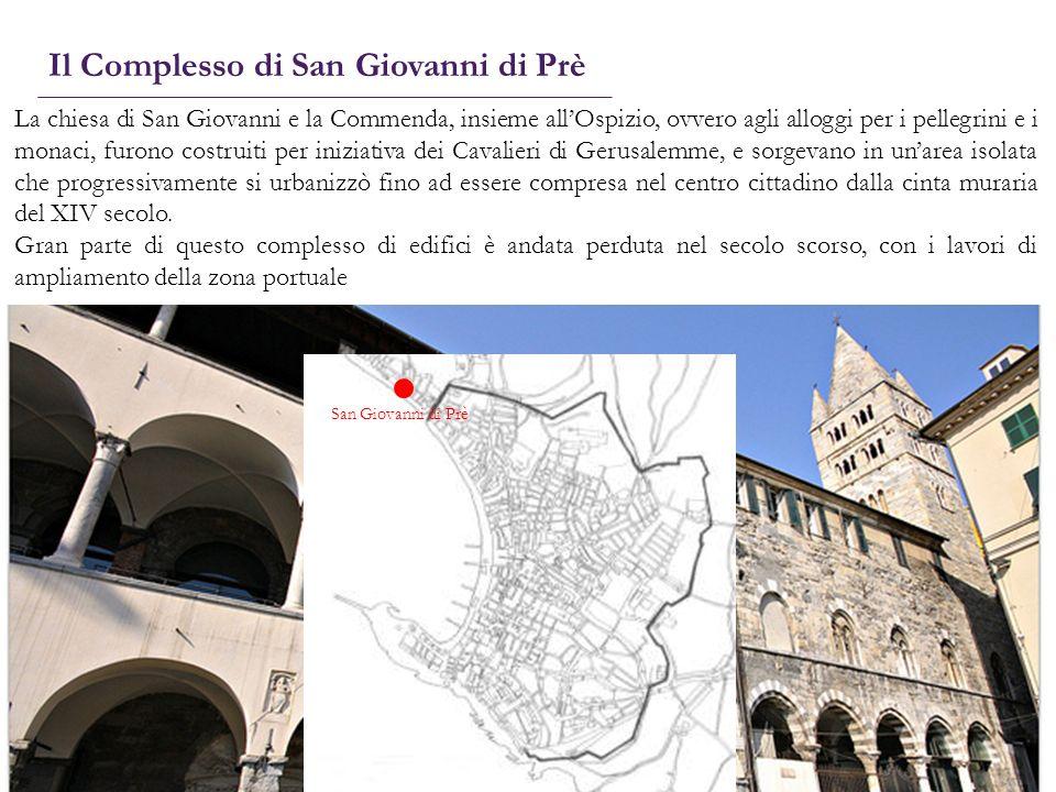 La chiesa di San Giovanni e la Commenda, insieme allOspizio, ovvero agli alloggi per i pellegrini e i monaci, furono costruiti per iniziativa dei Cava