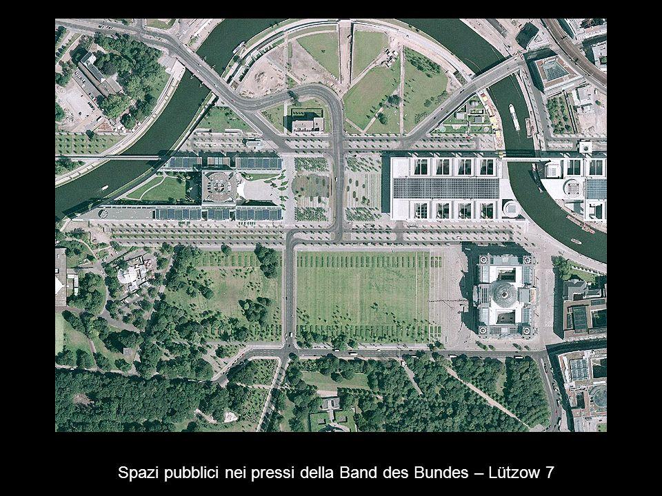 Spazi pubblici nei pressi della Band des Bundes – Lützow 7