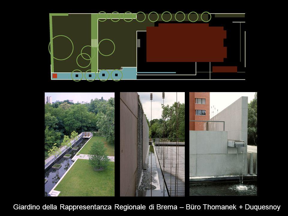 Giardino della Rappresentanza Regionale di Brema – Büro Thomanek + Duquesnoy