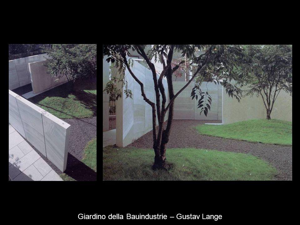 Giardino della Bauindustrie – Gustav Lange