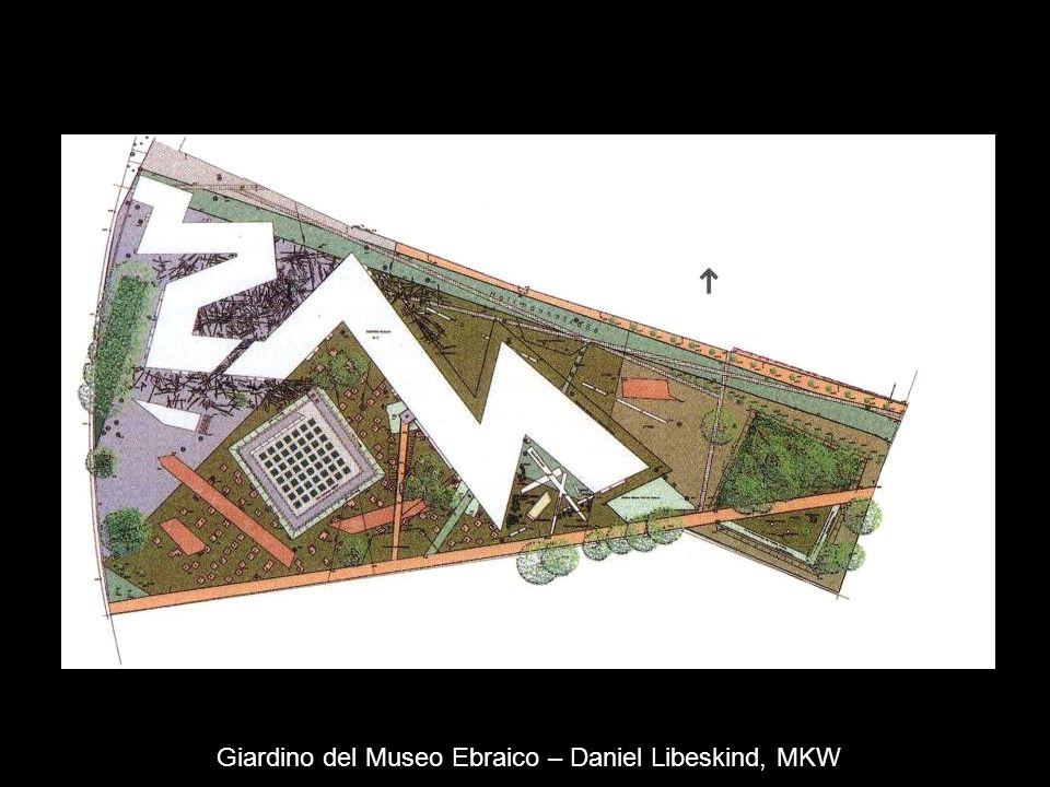 Giardino del Museo Ebraico – Daniel Libeskind, MKW