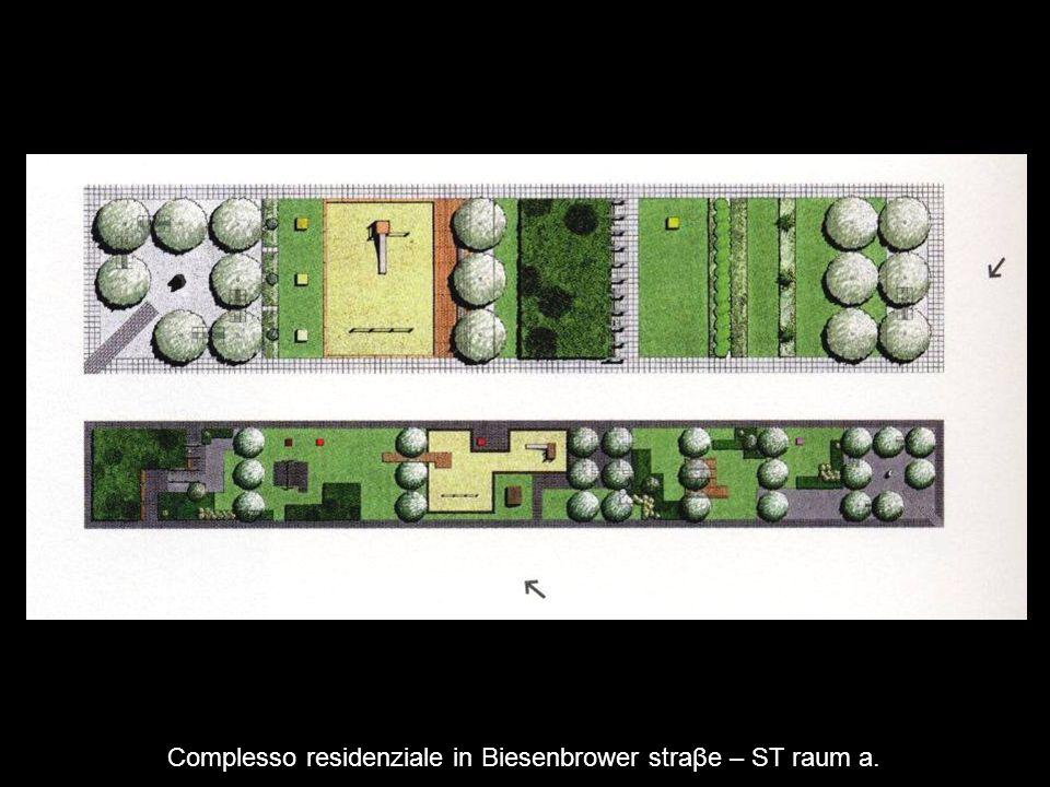 Complesso residenziale in Biesenbrower straβe – ST raum a.