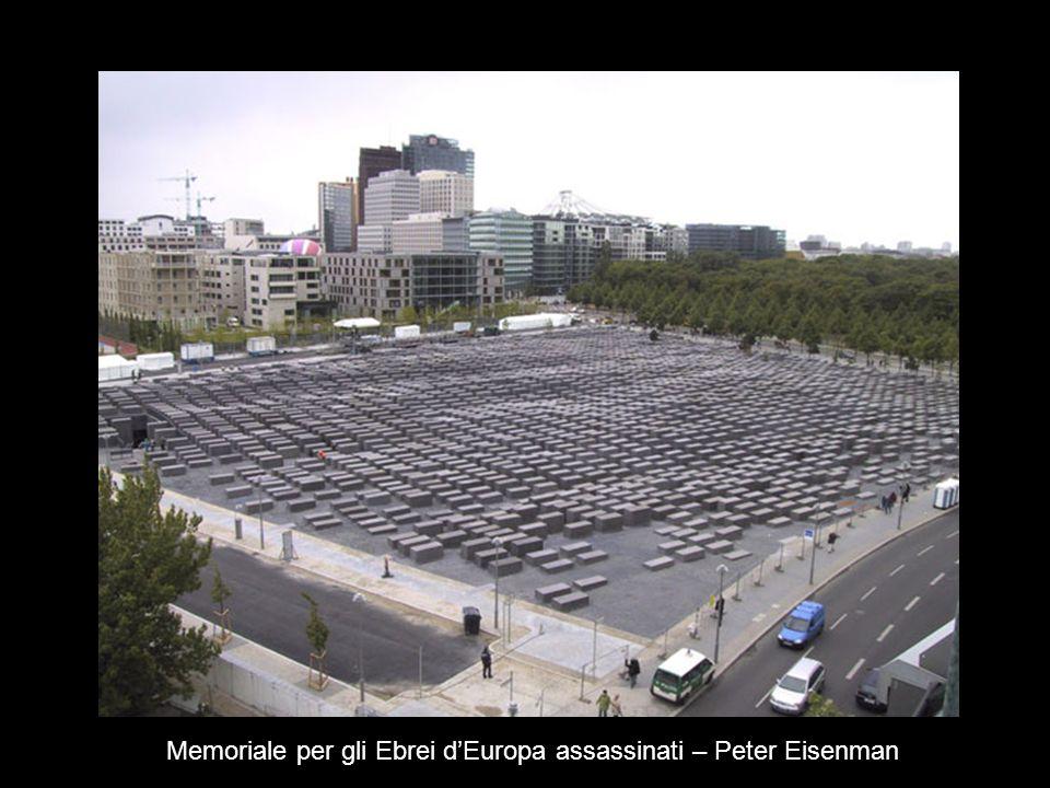 Memoriale per gli Ebrei dEuropa assassinati – Peter Eisenman