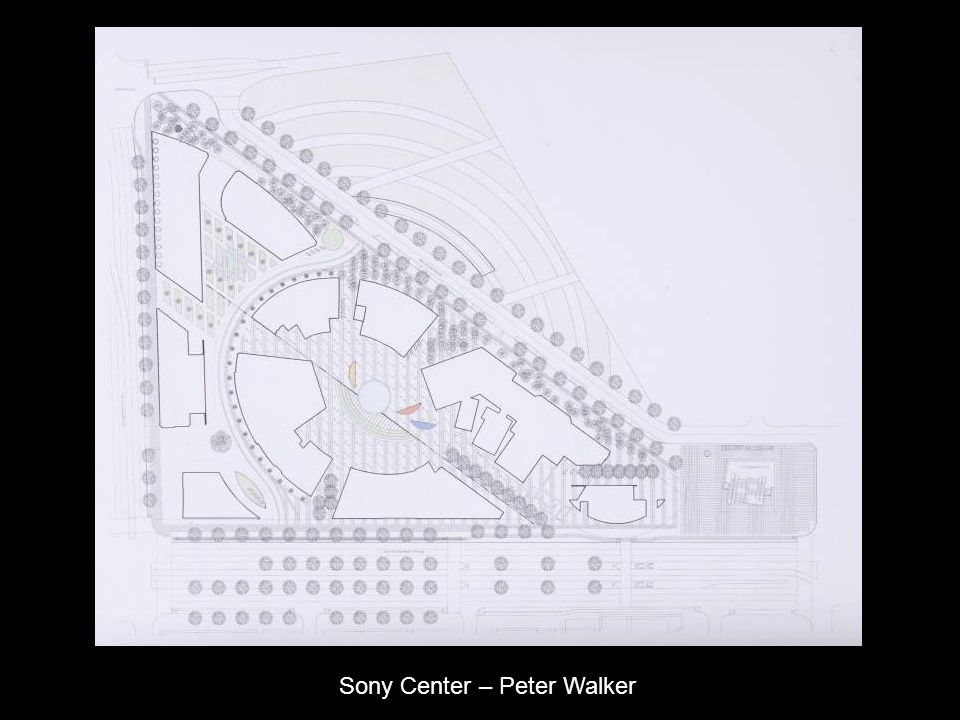 Sony Center – Peter Walker
