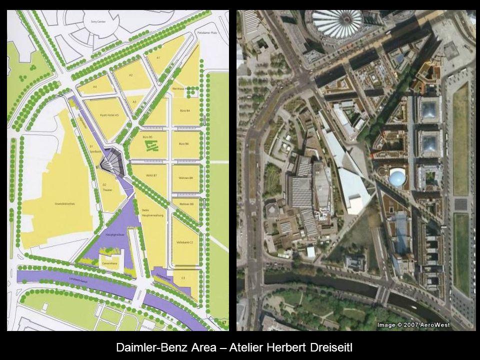Daimler-Benz Area – Atelier Herbert Dreiseitl