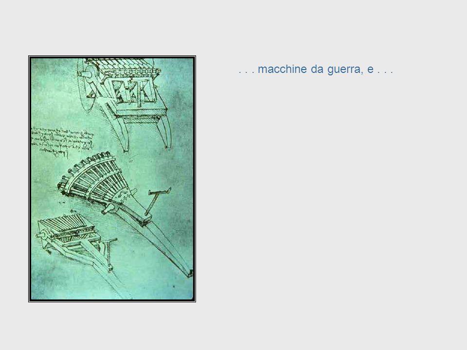 ... architettura... Da Vinci, cont. – Architecture