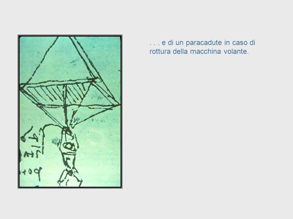 ... ingegneria aeronautica. Questo è un bozzetto per una macchina volante del 16° Secolo... Da Vinci, cont. – Aeronautical Engineering