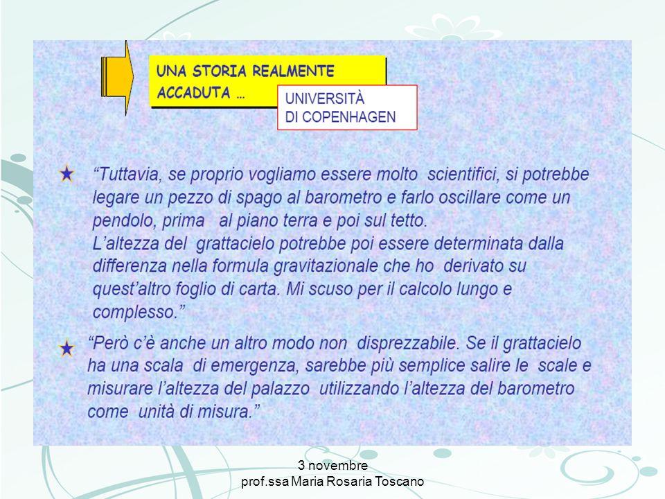 3 novembre prof.ssa Maria Rosaria Toscano Progettare per competenze Le parole chiave: Competenze Abilità Capacità Conoscenze