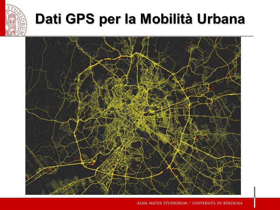 Dati GPS per la Mobilità Urbana