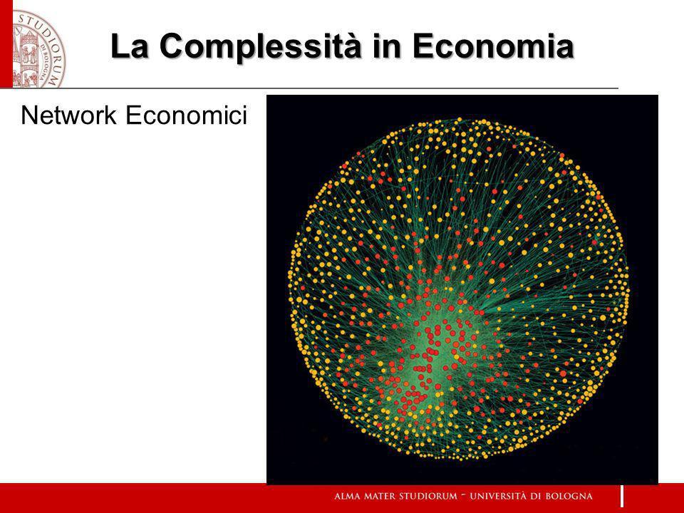 La Complessità in Economia Network Economici