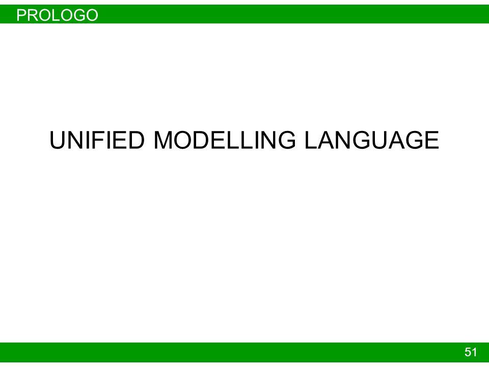 PROLOGO 51 UNIFIED MODELLING LANGUAGE