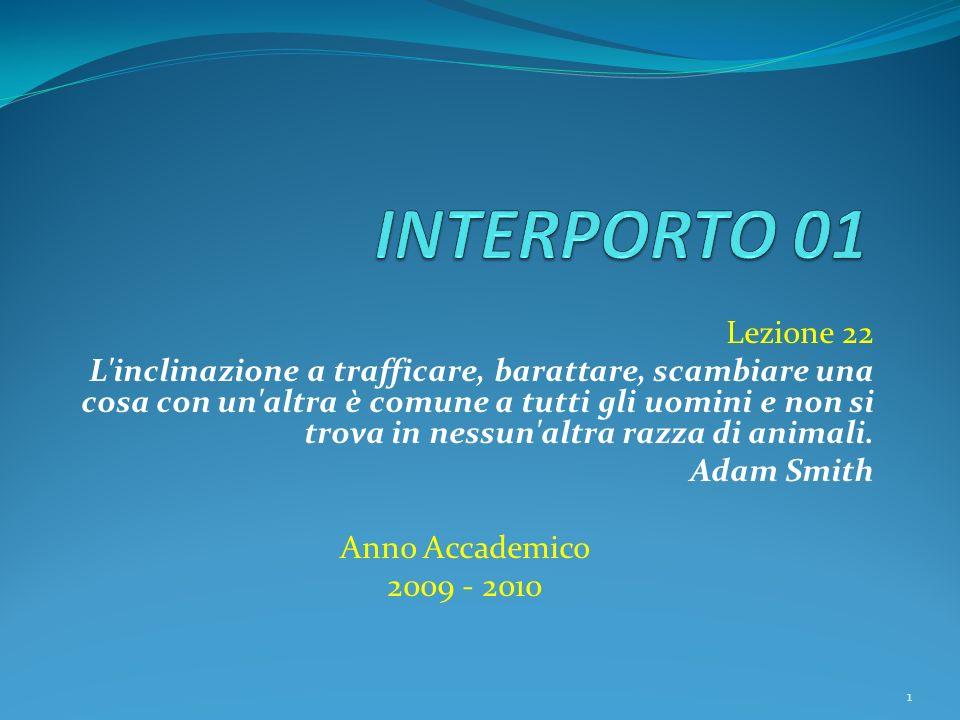 Lezione 22 L inclinazione a trafficare, barattare, scambiare una cosa con un altra è comune a tutti gli uomini e non si trova in nessun altra razza di animali.