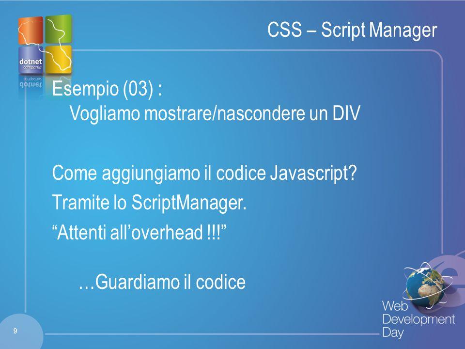 Fare clic per modificare lo stile del titolo Fare clic per modificare stili del testo dello schema – Secondo livello Terzo livello – Quarto livello » Quinto livello CSS – Cosa scegliere.