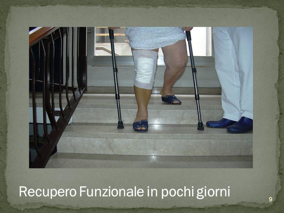 Direttamente dal Reparto di Ortopedia Spesso necessario accedere al Servizio per Pazienti non ricoverati ed aprire un P.R.I.