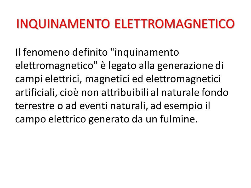 INQUINAMENTO ELETTROMAGNETICO Il fenomeno definito
