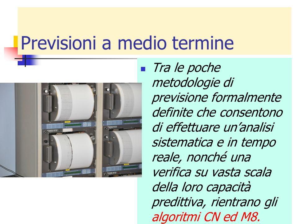 Previsioni a medio termine Tra le poche metodologie di previsione formalmente definite che consentono di effettuare unanalisi sistematica e in tempo r