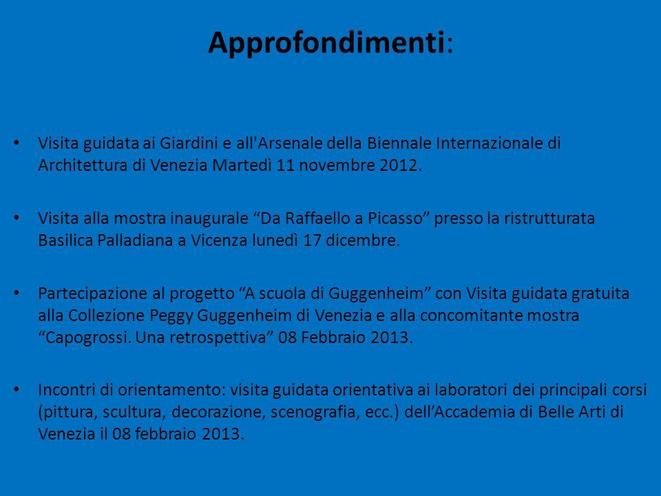 Visita guidata ai Giardini e all'Arsenale della Biennale Internazionale di Architettura di Venezia Martedì 11 novembre 2012. Visita alla mostra inaugu
