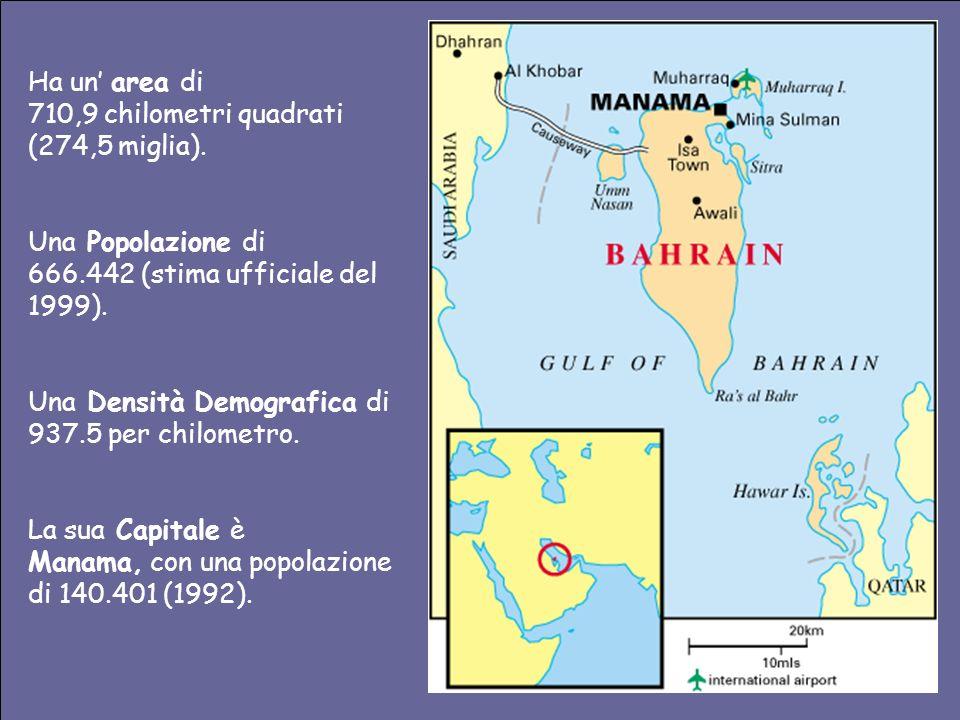 Ha un area di 710,9 chilometri quadrati (274,5 miglia).