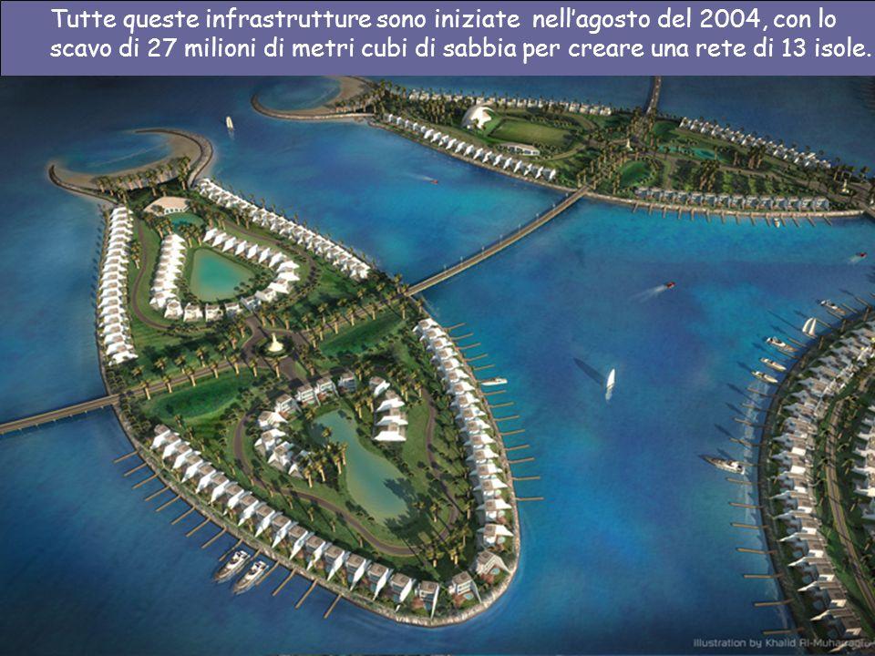 È È un complesso residenziale, turistico, architettonico, artistico ed economico che stanno costruendo nella parte sud-est dell isola chiamata Al Durr