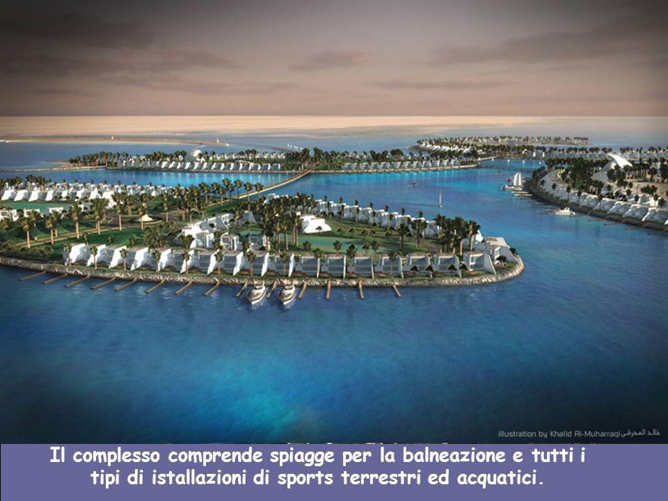 I progettisti di Al Bahrein de Durrat asseriscono che il condominio di lusso potrà anche funzionare come unopzione residenziale affinchè i visitatori