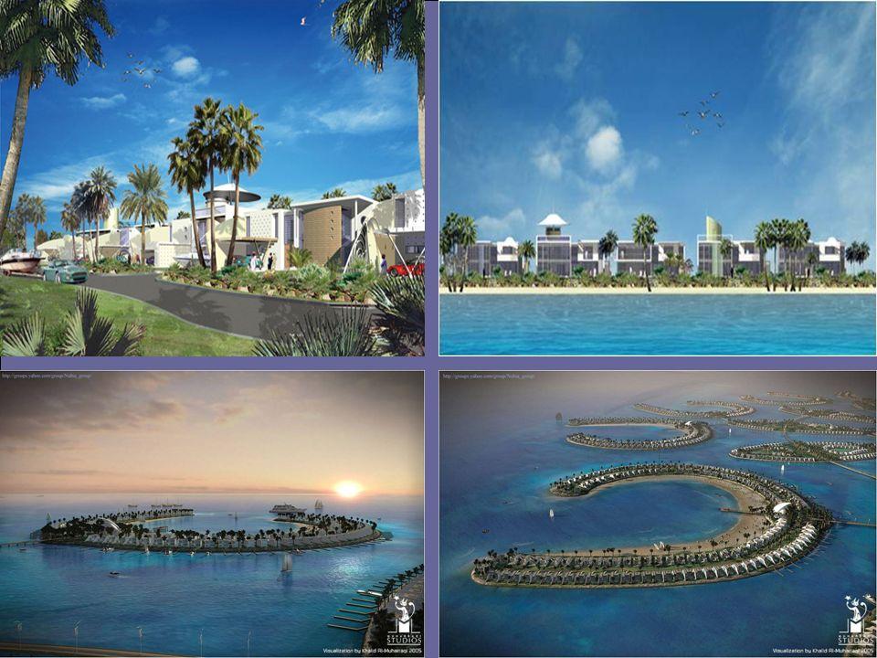 Il complesso comprende spiagge per la balneazione e tutti i tipi di istallazioni di sports terrestri ed acquatici.