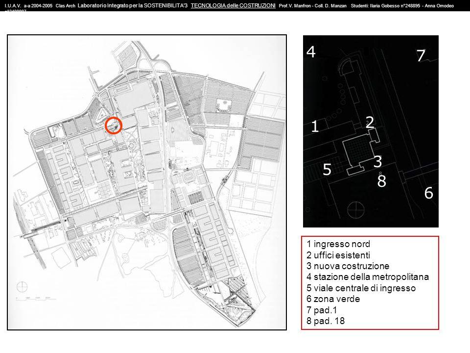 N° di piani:20 Altezza:82m Livello ultimo piano: +58,32m Superficie del piano: 13.563 m 2 Volume totale: 48.181 m 3 Dimensione torre per uffici: 24m x 24m Dimensioni facciata: 10.500 m 2 Dimensione pelle esterna: 12.520 m N° posti di lavoro: 250 I.U.A.V.