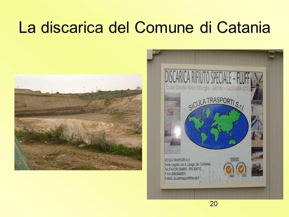 19 La discarica del Comune di Catania