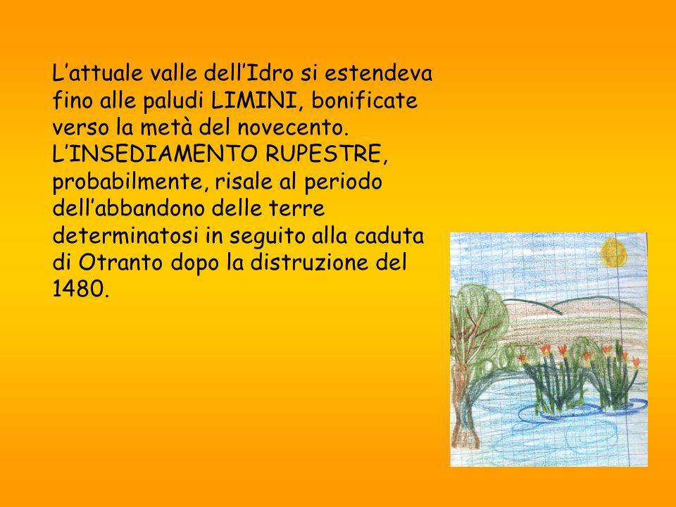 Lattuale valle dellIdro si estendeva fino alle paludi LIMINI, bonificate verso la metà del novecento.