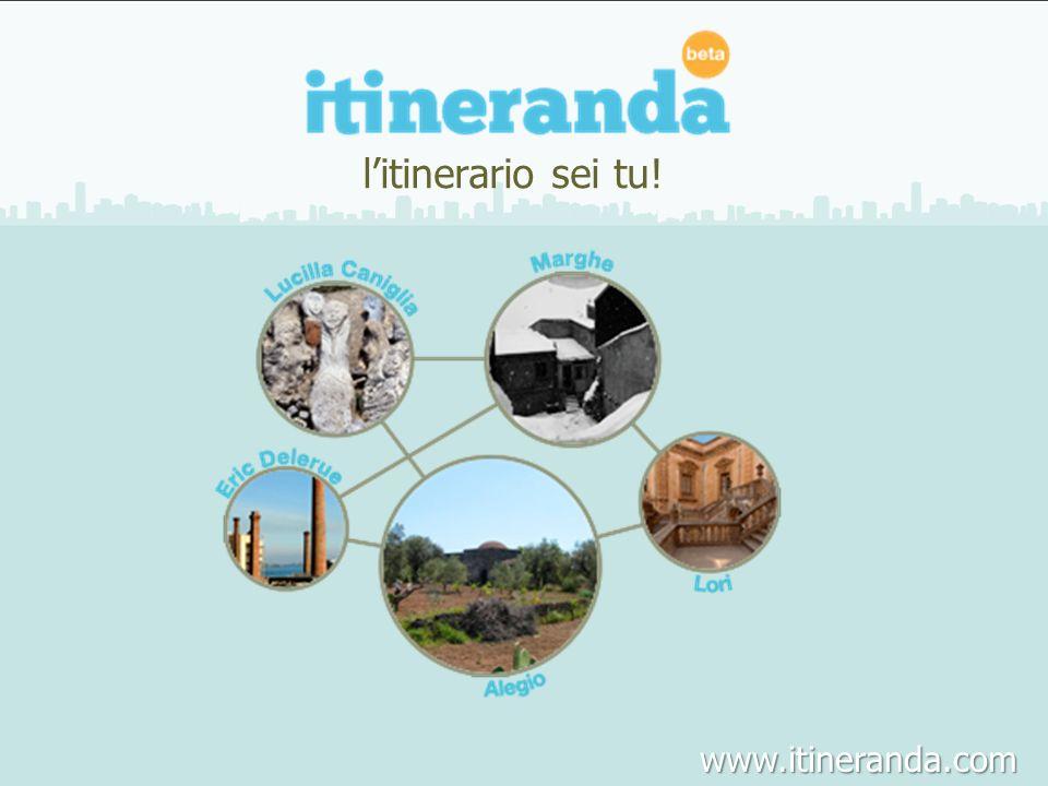 litinerario sei tu! www.itineranda.com