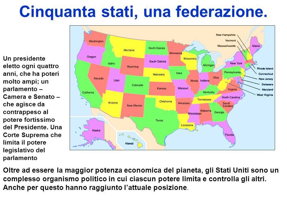 Cinquanta stati, una federazione.