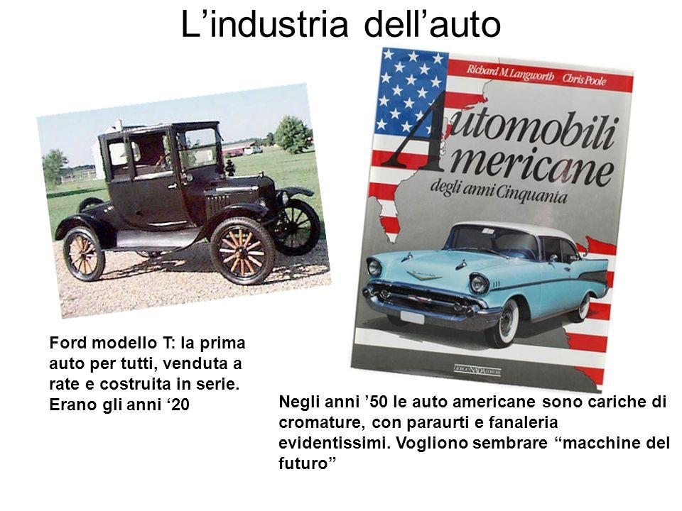 Ford modello T: la prima auto per tutti, venduta a rate e costruita in serie.