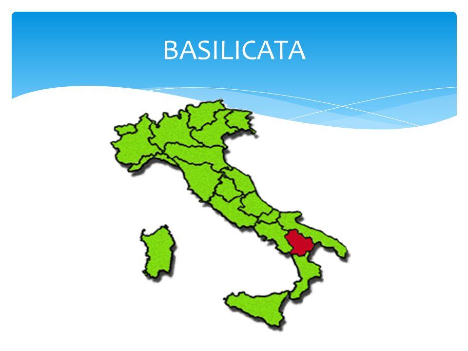 La Basilicata o anche comunemente Lucania è una regione dell Italia meridionale di 587.517 abitanti ed ha come capoluogo Potenza.