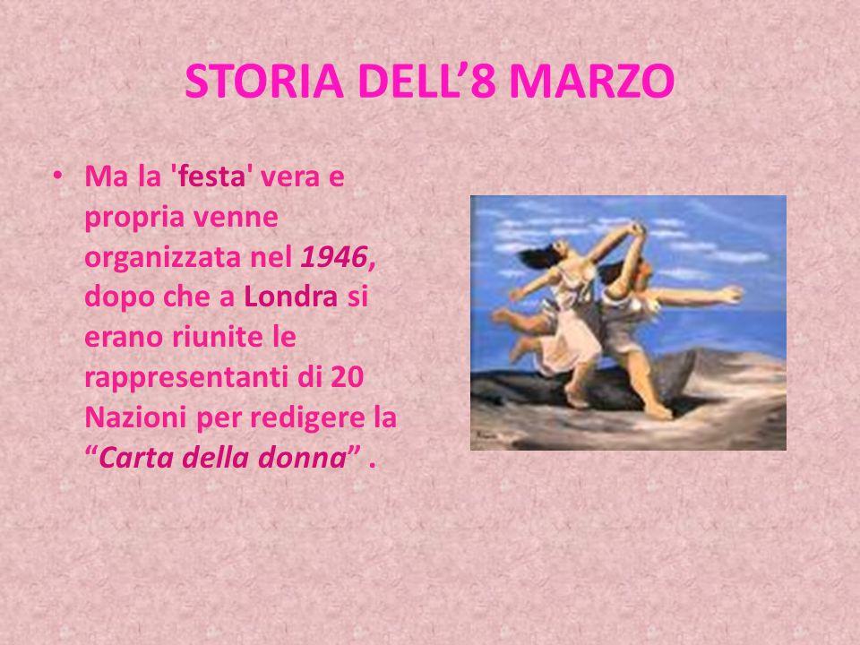 LE PAROLE DEL PRESIDENTE DELLA REPUBBLICA Ma non tutti i pregiudizi nei confronti delle donne sono ancora caduti e soprattutto non sono ancora caduti tutti gli ostacoli che concretamente si oppongono all effettiva realizzazione dei diritti e delle aspettative delle donne in Italia e tantomeno sono rimossi gli ostacoli che impediscono l affermarsi, in generale, nel mondo di quella uguaglianza di diritti invocata dalle Nazioni Unite, dalla Dichiarazione universale che esse approvarono nel dicembre 1948.