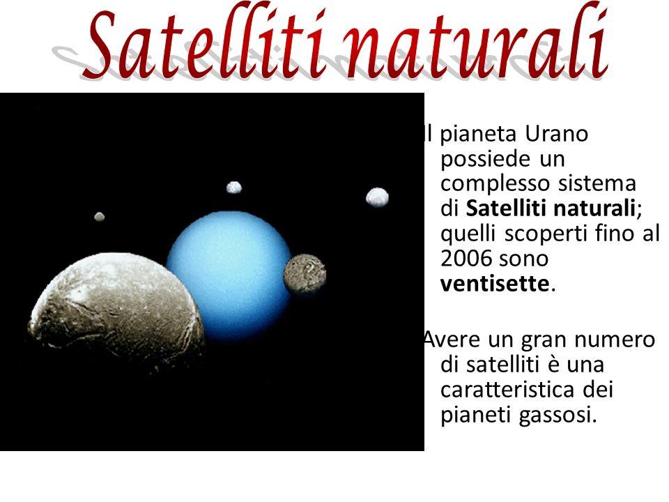 Il pianeta Urano possiede un complesso sistema di Satelliti naturali; quelli scoperti fino al 2006 sono ventisette. Avere un gran numero di satelliti