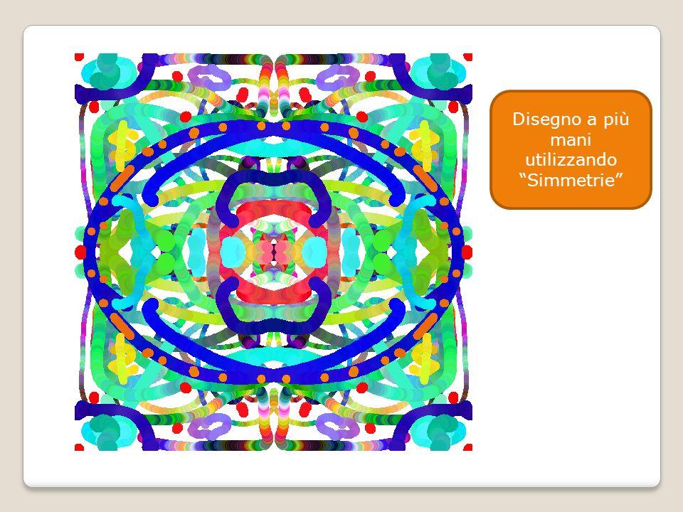 Disegno a più mani utilizzando Simmetrie