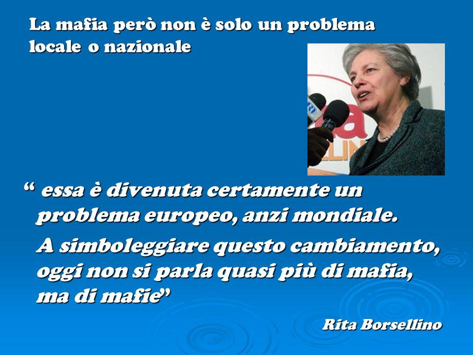 essa è divenuta certamente un problema europeo, anzi mondiale. essa è divenuta certamente un problema europeo, anzi mondiale. A simboleggiare questo c