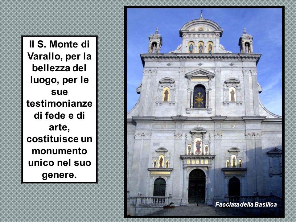 Il complesso degli edifici, una cinquantina è stato costruito nel corso di un paio di secoli. Ogni cappella rappresenta, con affreschi (circa 4.000 fi